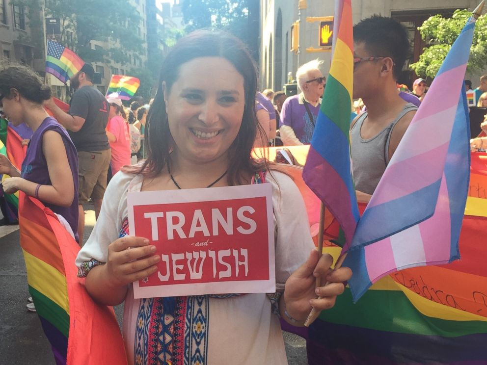 PHOTO: Hannah Simpson is a trans rights activist.