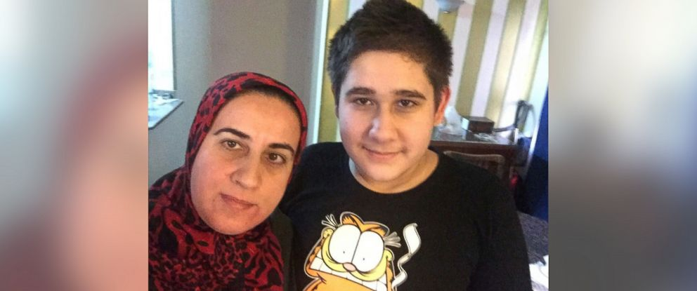 PHOTO: Alaa Ali Alali lives in Cairo, Egypt, with her 14-year old son Muhammad.