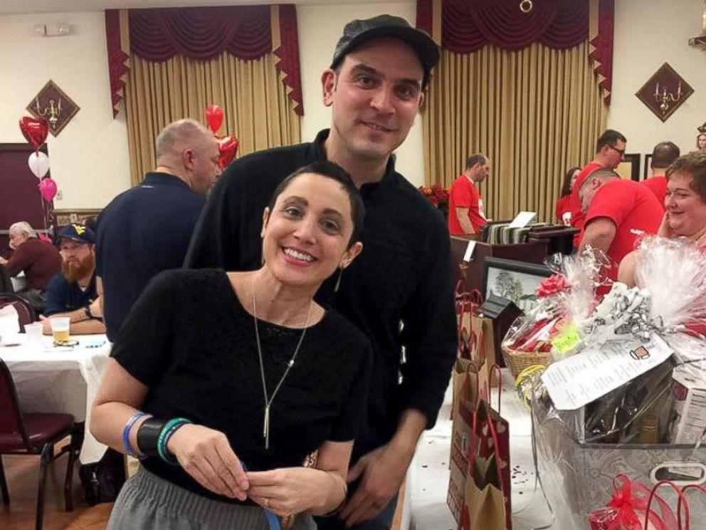 PHOTO: Amanda Petersen, seen with her husband Jon, has metastatic breast cancer.
