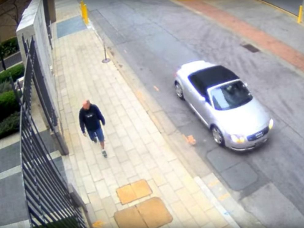 PHOTO: Atlanta police released video footage to the public of a suspected gunman caught on camera in the targeted killing of a woman in broad daylight on April 3, 2017.