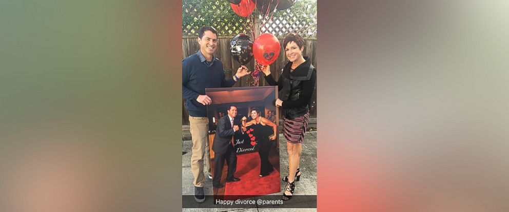 PHOTO: A California couple threw a divorce party after they separated following 24 years of marriage.