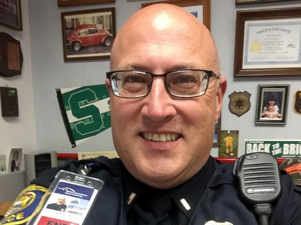 PHOTO: Lt. Jeff Neville, an airport police officer at Bishop International Airport in Flint, Michigan, was stabbed at the airport on June 21, 2017.