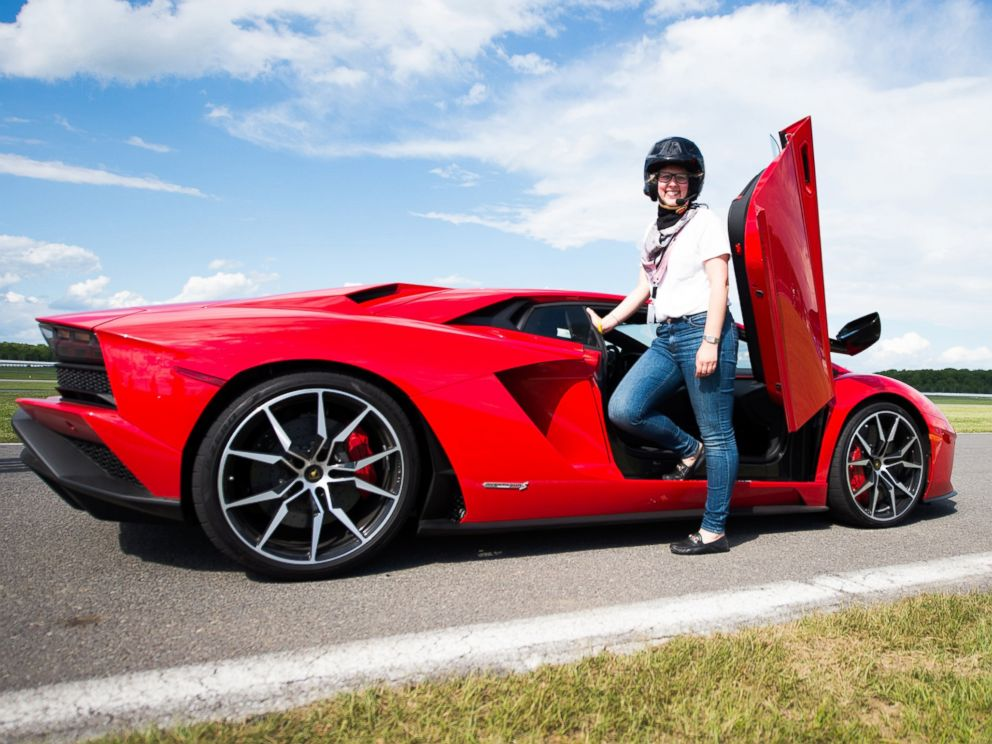 PHOTO: Journalists Had A Chance To Test Drive The Aventador S At The Pocono  Lamborghini