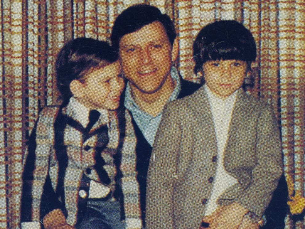 PHOTO: Jose Menendez pictured with his sons, Erik, left, and Lyle.