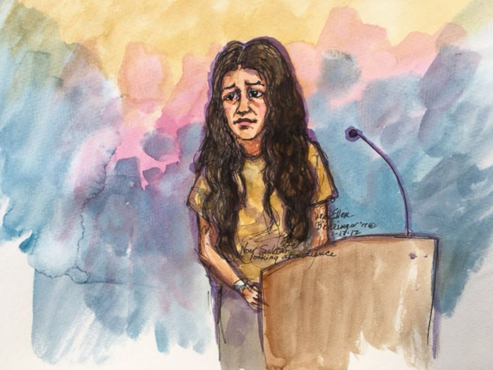 PHOTO: Gunman Omar Mateens wife, Noor Salman, who was arrested by the FBI Monday in San Francisco, appeared in federal court on Jan. 17, 2017.