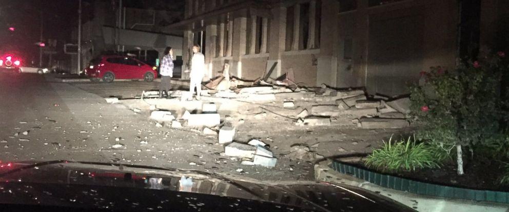 PHOTO: A 5.3 magnitude earthquake was reported in Cushing, Oklahoma, Nov. 6, 2016.