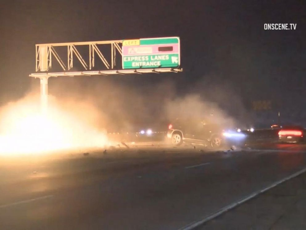 Photojournalist Saves Driver Trapped in Burning Car on Highway in