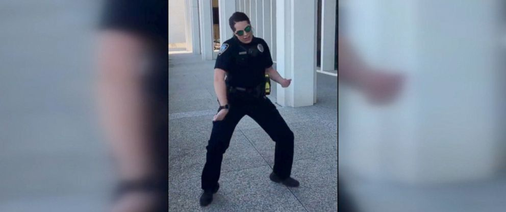 PHOTO: Some police departments from across the country are competing with each other in a social media dance-off on Twitter.