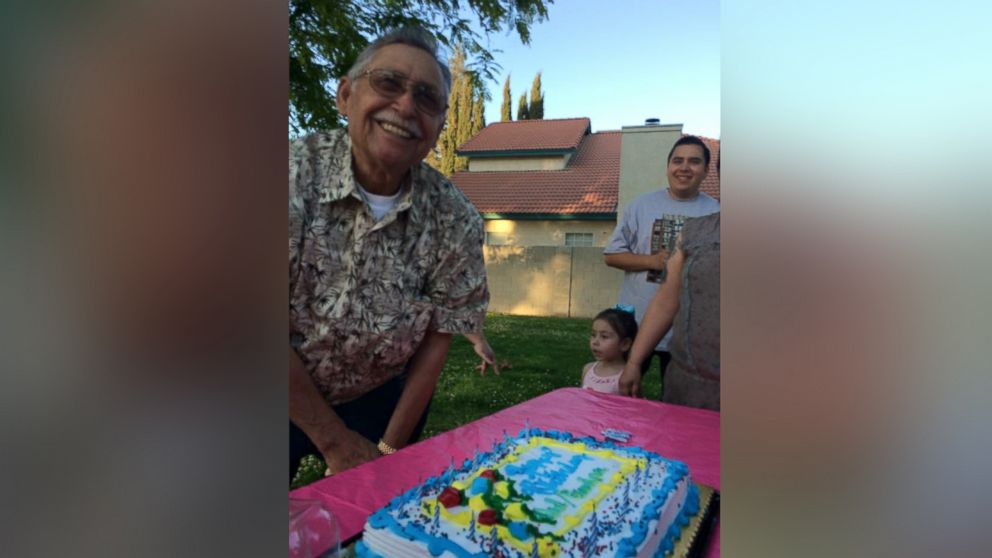Francisco Serna, 73, is pictured here in an undated family handout photo.