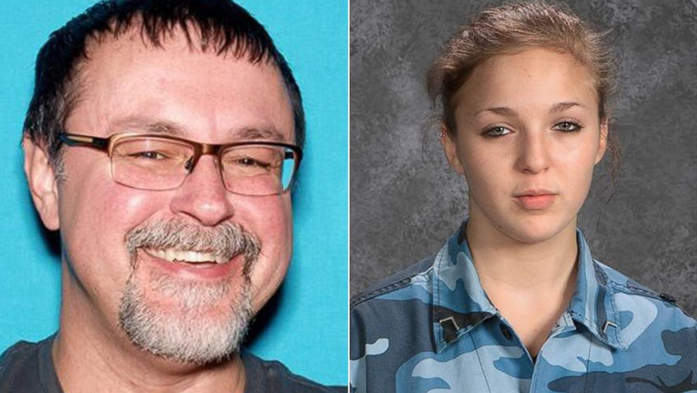 (L-R) Pictured are Tad Cummins, who is on the Tennessee Bureau of Investigation's 'Top 10 Most Wanted' list and Elizabeth Thomas, the subject of a statewide AMBER Alert in Tennessee.