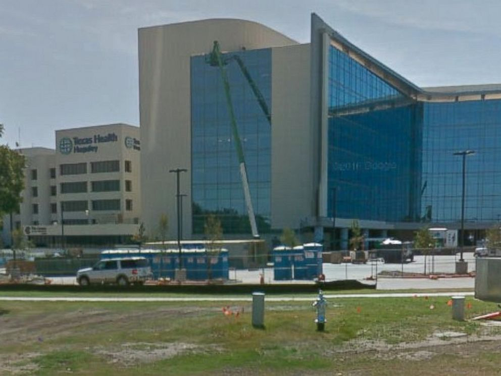 PHOTO: Texas Health Huguley Hospital, outside Fort Worth, where Sara Beltran Hernandez was taken after she collapsed.