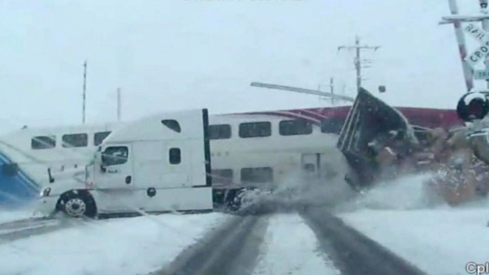 Passenger Train Crashes Through FedEx Truck in Shocking