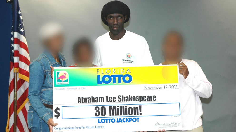 In this undated photo shows Florida lottery winner, Abraham Shakespeare, who won the lottery on Nov. 15, 2006.