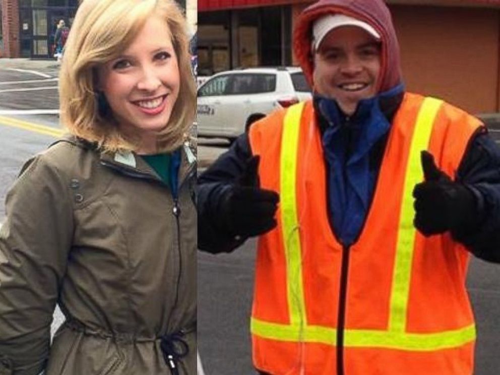 PHOTO: WDBJ in Virginia shared these image of reporter Alison Parker and Adam Ward after reporting that they had been killed in a shooting on Aug. 26, 2015.
