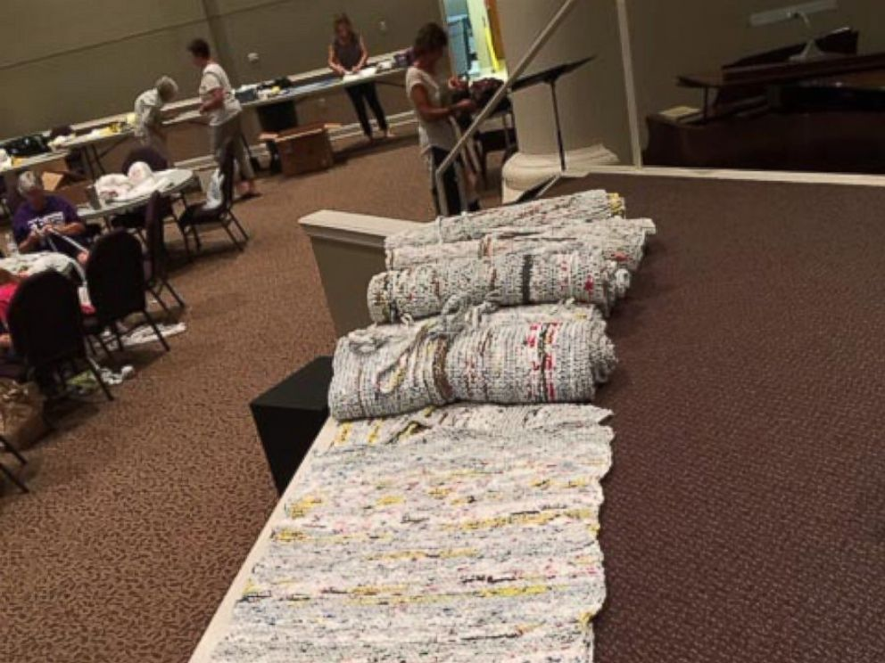 Tennessee Church Group Turns Over 10000 Plastic Bags Into Sleeping