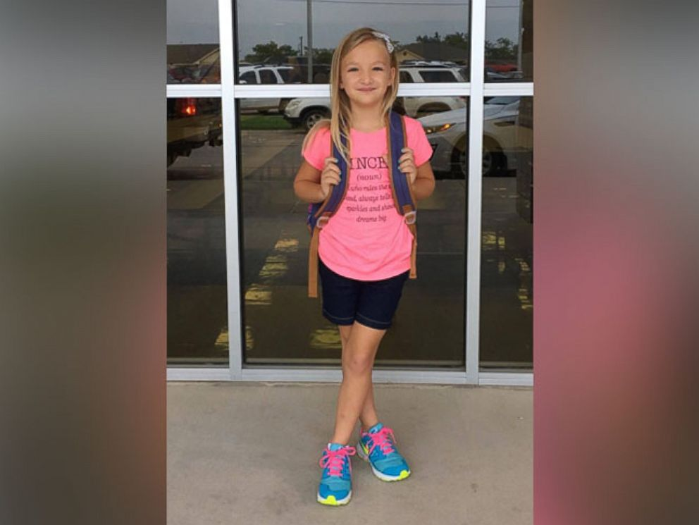 PHOTO: Brooke Gallagher, 7, was excited when she learned her second-grade teacher had created a new policy to not assign homework to students, her mom, Samantha, told ABC News.