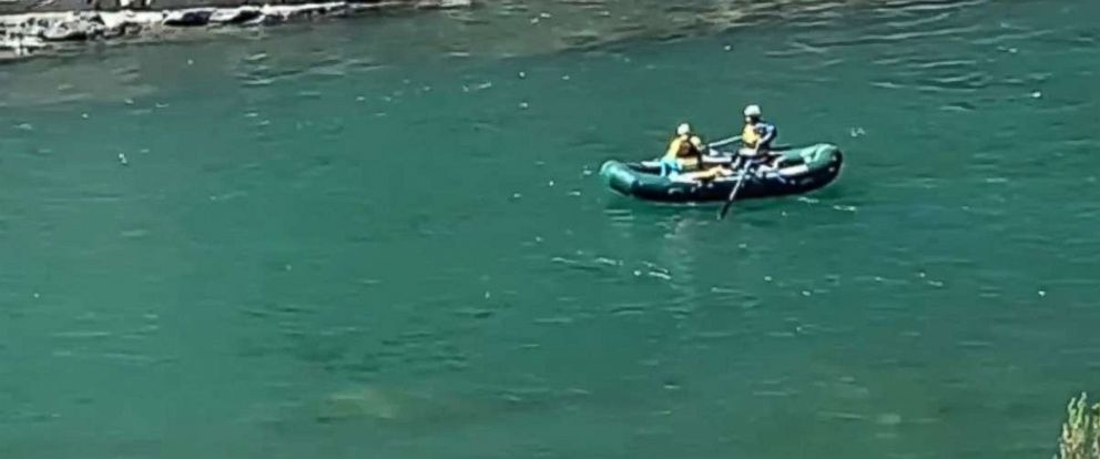 PHOTO: A man died after falling into a California river on Sunday, March 17, 2019.