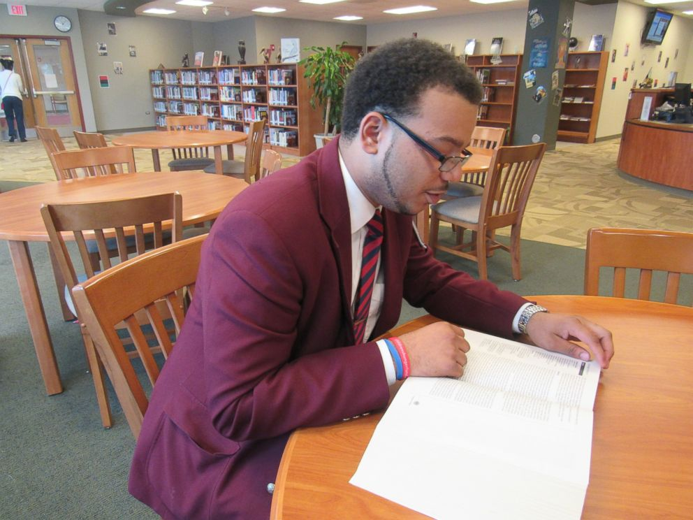 PHOTO: Chicago-area high school senior Christian Davis has been accepted to more than three dozen colleges and universities, including four of the nations ivy leagues.
