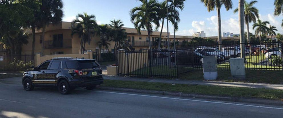 PHOTO: Police are searching for a man who allegedly killed his wife and 10-year-old daughter at their home in Miami Gardens, Florida.