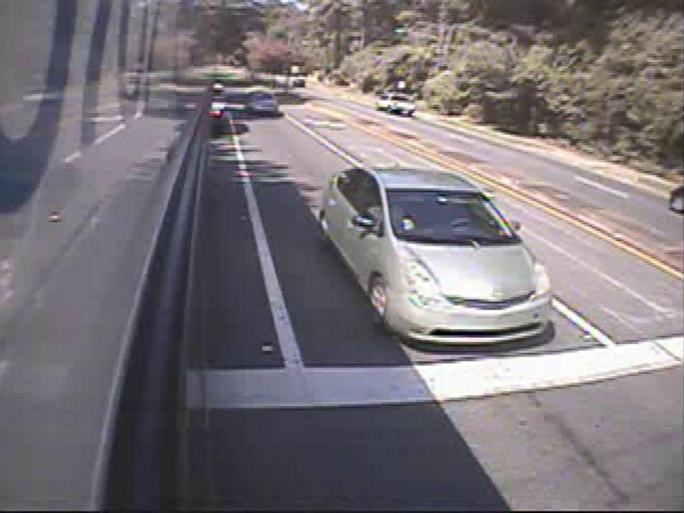 PHOTO: Police obtained this video shot from a city bus of what they believed was the same green Toyota Prius they suspected was the getaway vehicle after Dan Markels murder.