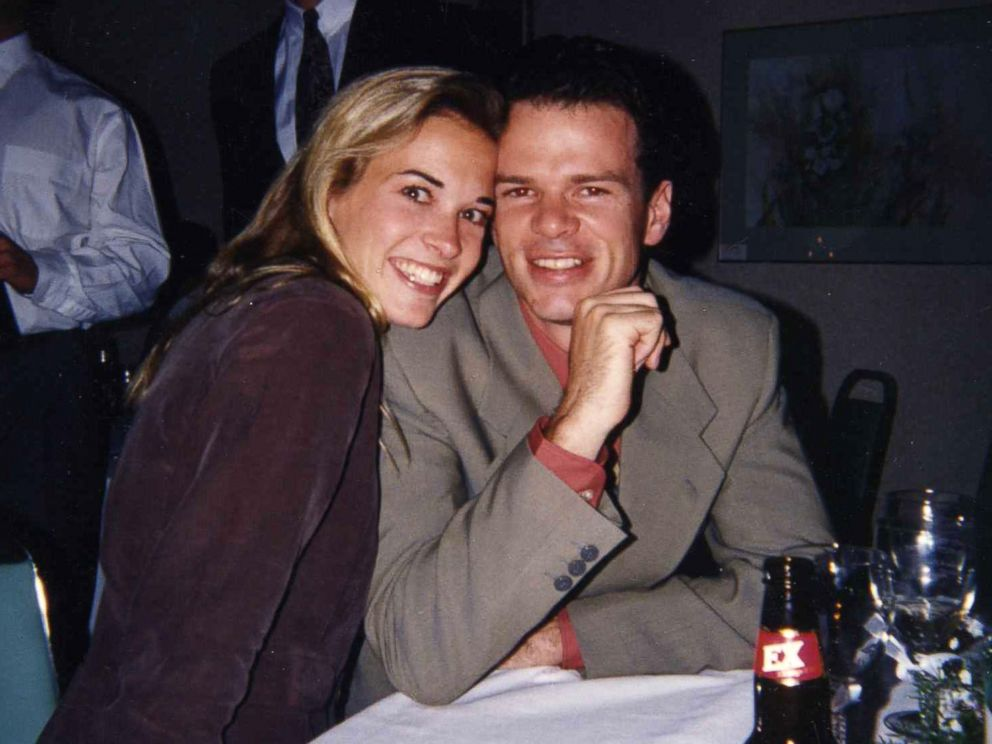 PHOTO: Suzy Favor Hamilton and her husband Mark Hamilton are pictured together in happier times.