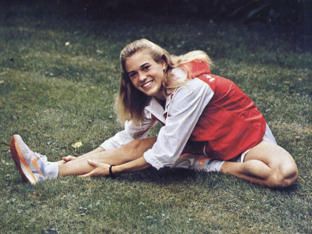 PHOTO: Suzy Favor Hamilton attended University of Wisconsin-Madison, where she ran Womens Track & Field and won nine NCAA championships and a silver medal at the 1989 World University Games.