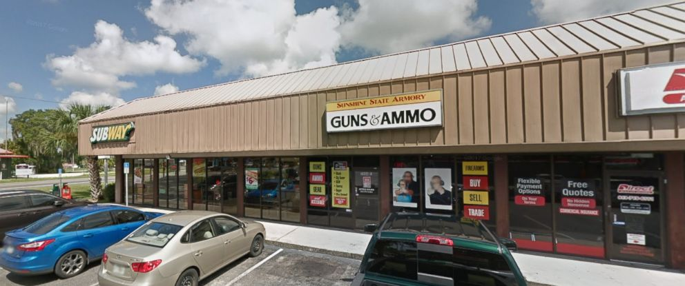 PHOTO: The Sunshine State Armory in Zephyrhills, Florida.