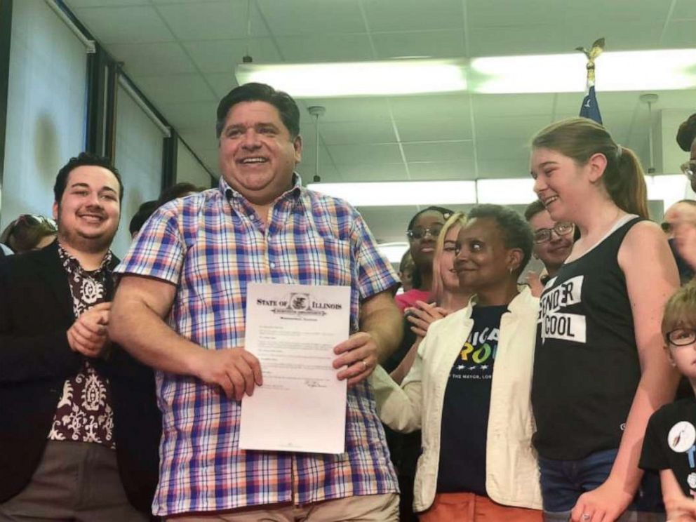 PHOTO: Illinois Governor Jay Pritzker signed an executive order that aims to protect transgender students throughout the state.