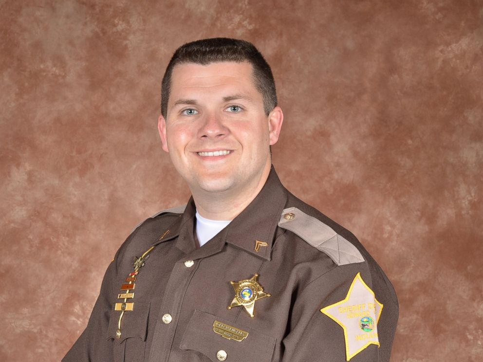 PHOTO: Howard County Sheriff Sergeant Jordan J. Buckley was injured after a shooting in Indiana March 20, 2016.