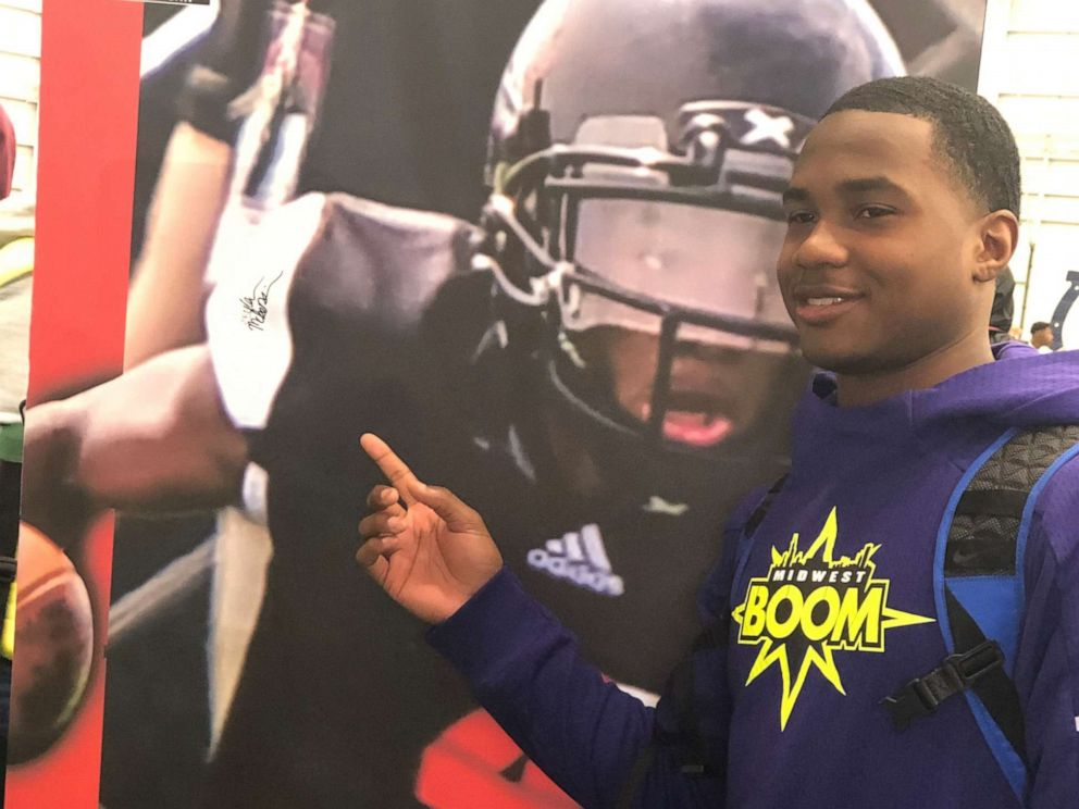 PHOTO: Jaylon McKenzie, a 14-year-old football phenom, was fatally shot outside of a party on Saturday, May 4, 2019.