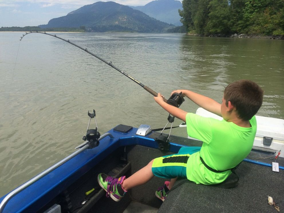 9-Year-Old Boy Reels in 600-Pound Sturgeon and There's Video