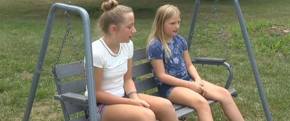 PHOTO: Sisters Allison and Lauren Eickhoff managed to fight off a man who assaulted them over the weekend.