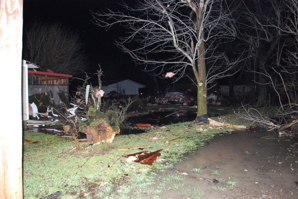 At least 3 dead after reported tornadoes, flooding sweep through the South