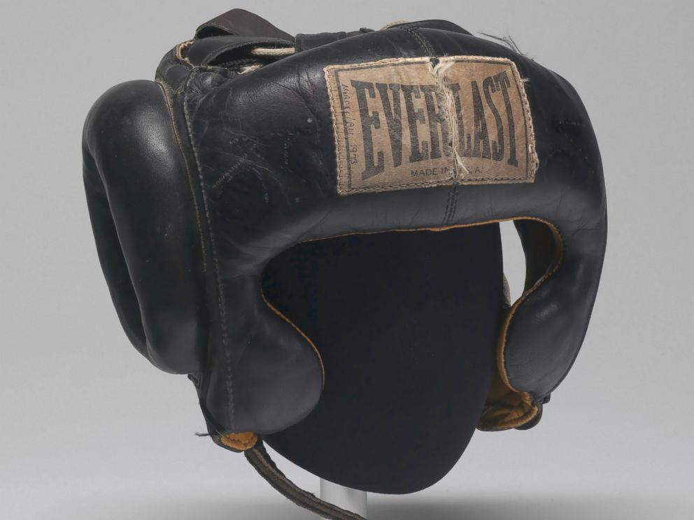 Muhammad Ali Headgear, Fifth Street Gym.
