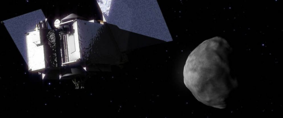 PHOTO: NASA has announced a $800 million plan to acquire a sample of an asteroid and return it to earth by 2023.