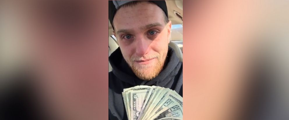 PHOTO: Pizza delivery man Jeff Louis was brought to tears by a $700 TIP from Life Point Church in Mentor, Ohio, according to a video he posted to YouTube on Nov. 22, 2015, that has gone viral.