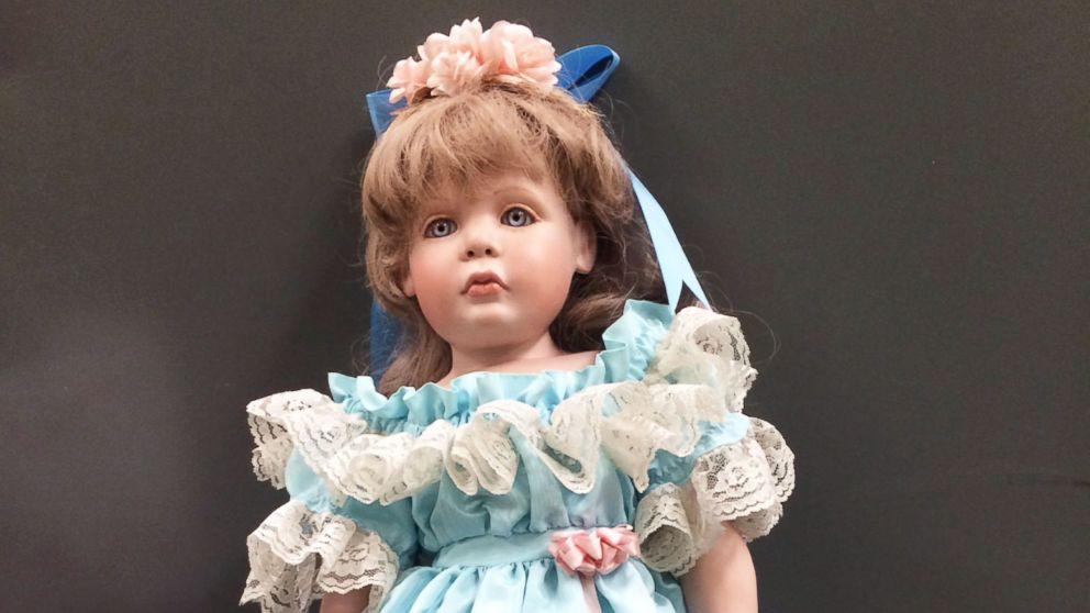 Porcelain dolls were mysteriously left on the doorsteps of California families.