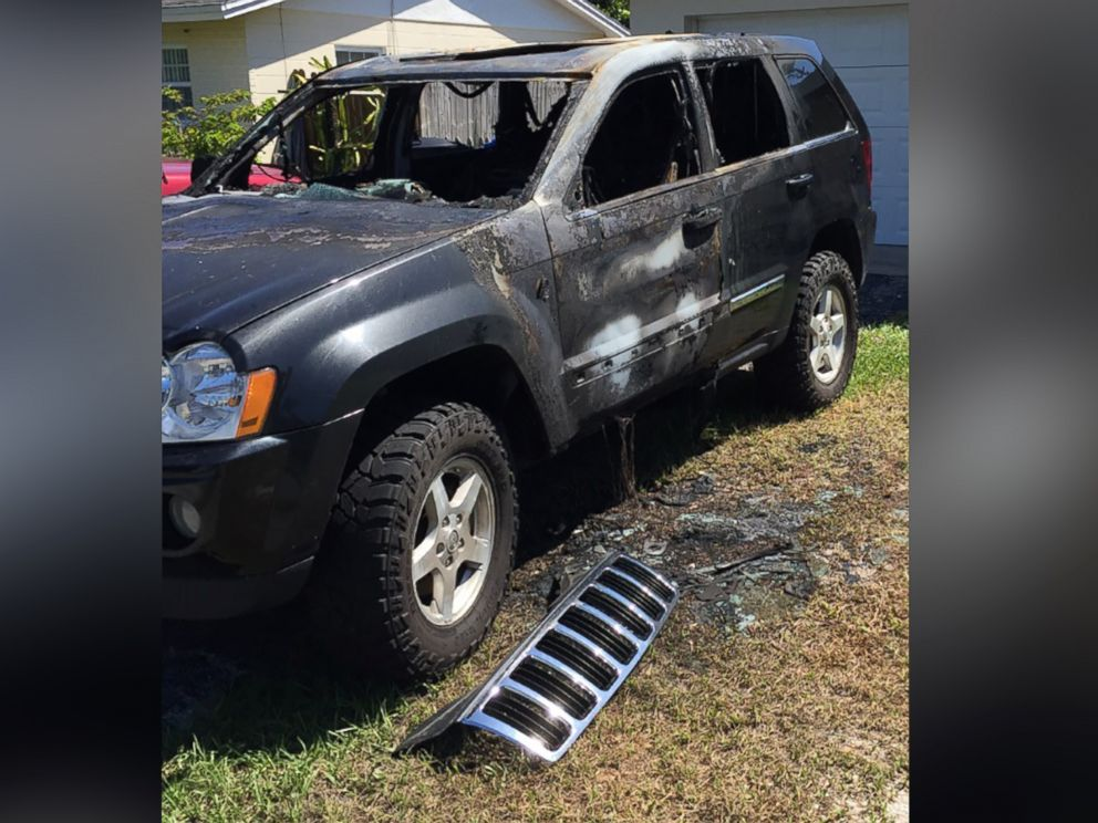 PHOTO:The St. Petersburg Fire Rescue in Florida is investigating a vehicle fire that happened on Sept. 5, 2016, according to the departments public information officer, Lt. Steve Lawrence.