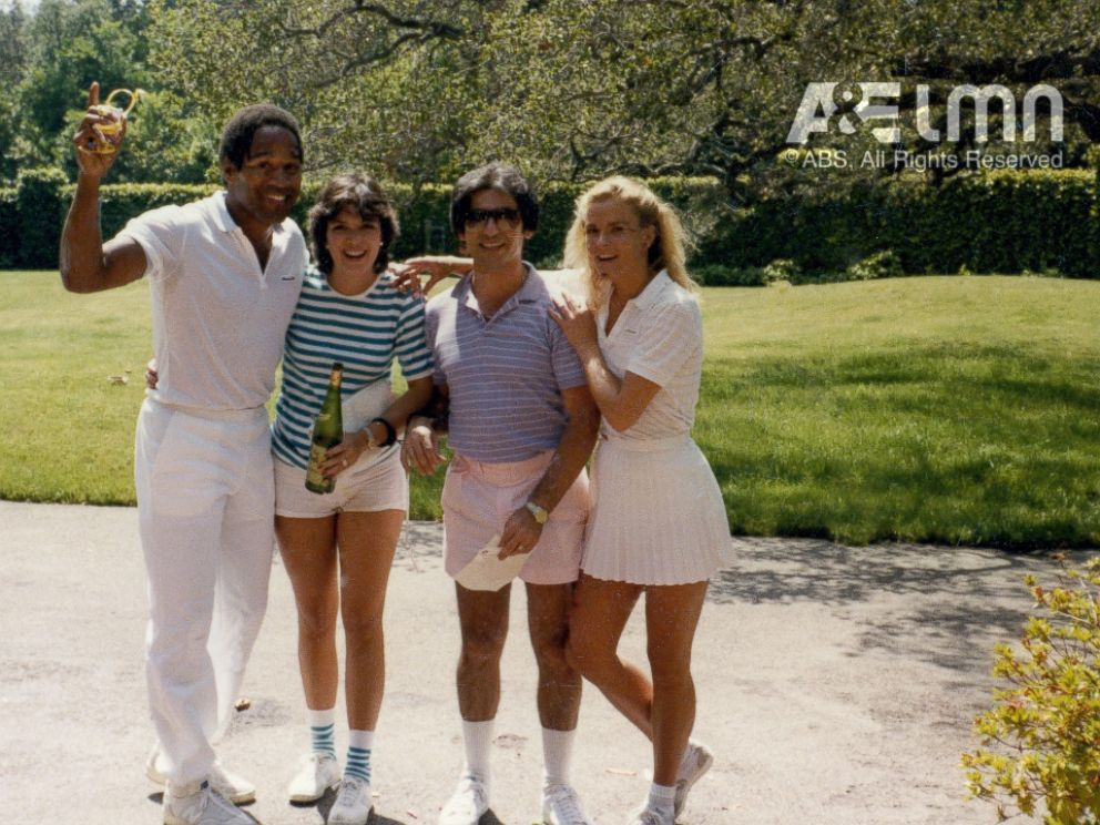 PHOTO: O.J. Simpson, pictured here with Kris Jenner, Robert Kardashian and Nicole Brown Simpson, was best friends with Kris Jenner and Robert Kardashian.