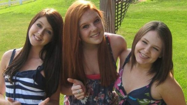 PHOTO: Skyler Neese, on the right, is pictured here with her friends Sheila Eddy, on the left, and Rachel Shoaf, in the middle.