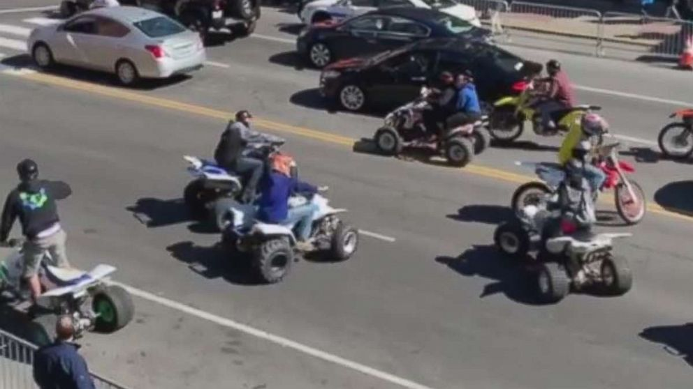 ATV driver drags Nashville officer down busy street after traffic stop