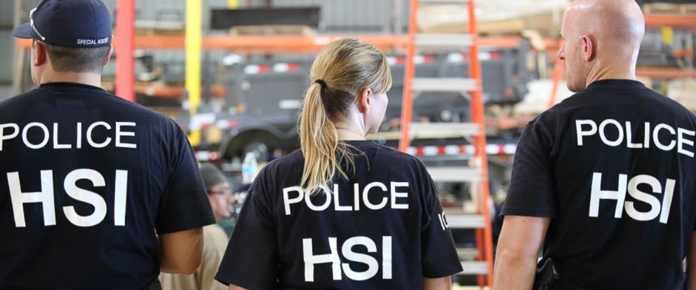 PHOTO: Federal authorities detained nearly 200 undocumented workers on Tuesday.