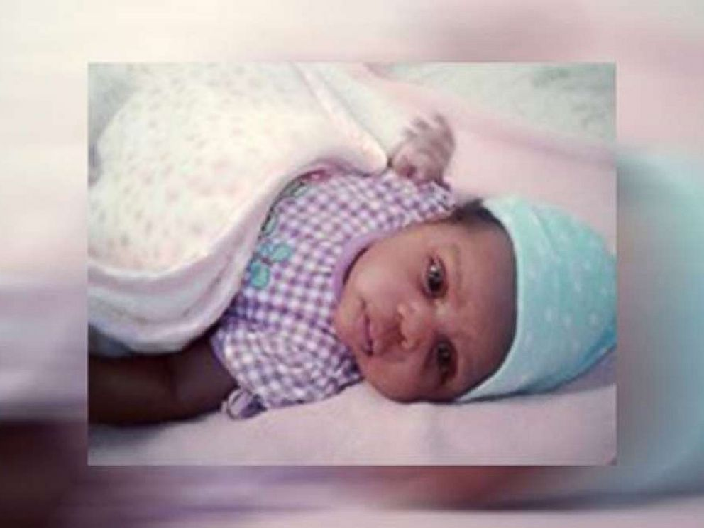 PHOTO: Six-week-old Shanally Flores, who went missing on Tuesday after her mothers murder.