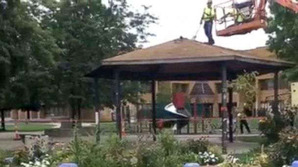 Gazebo Where Tamir Rice Was Shot to Be Moved to Museum