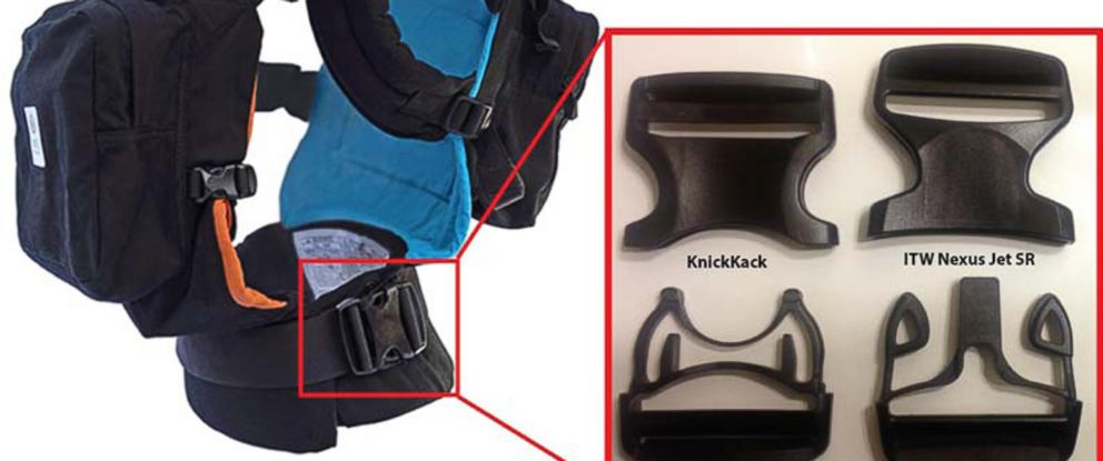 PHOTO:Twin Go recalls baby carriers due to fall hazard.