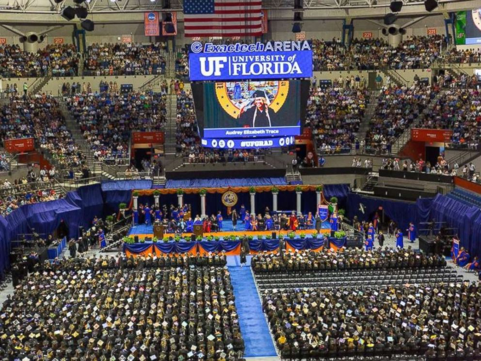 PHOTO: A ceremony honoring the University of Floridas nearly 10,000-member Spring 2018 graduating class.