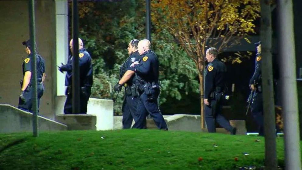 Officers with the Salt Lake City Police Department said a suspect shot himself after he allegedly killed a University of Utah student on Monday, Oct. 23, 2018.