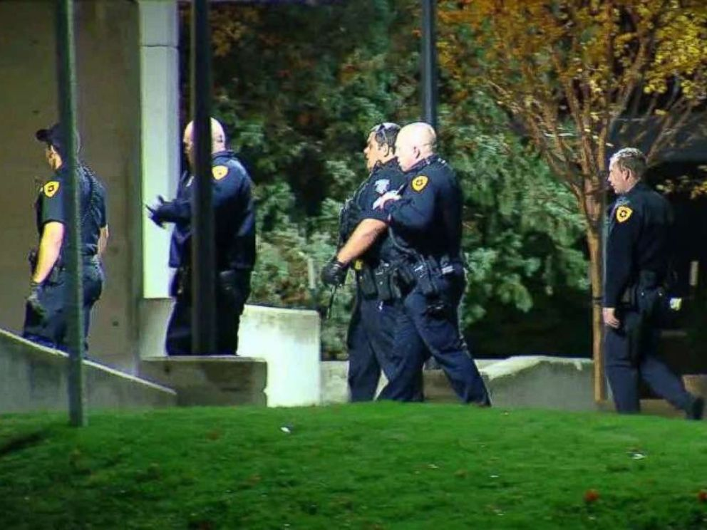 PHOTO: Officers with the Salt Lake City Police Department said a suspect shot himself after he allegedly killed a University of Utah student on Monday, Oct. 23, 2018.