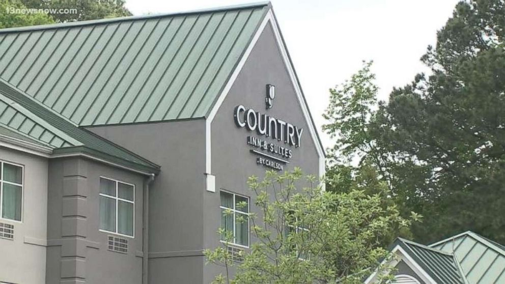 The Country Inn & Suites by Radisson in Newport News, Virginia, where an employee allegedly called a customer a racial slur.