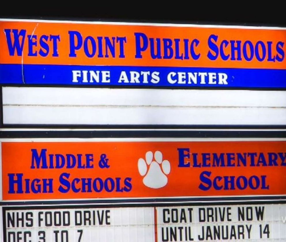 PHOTO: Officials at West Point High School fired a french teacher, citing discrimination on Thursday, Dec. 05, 2018.